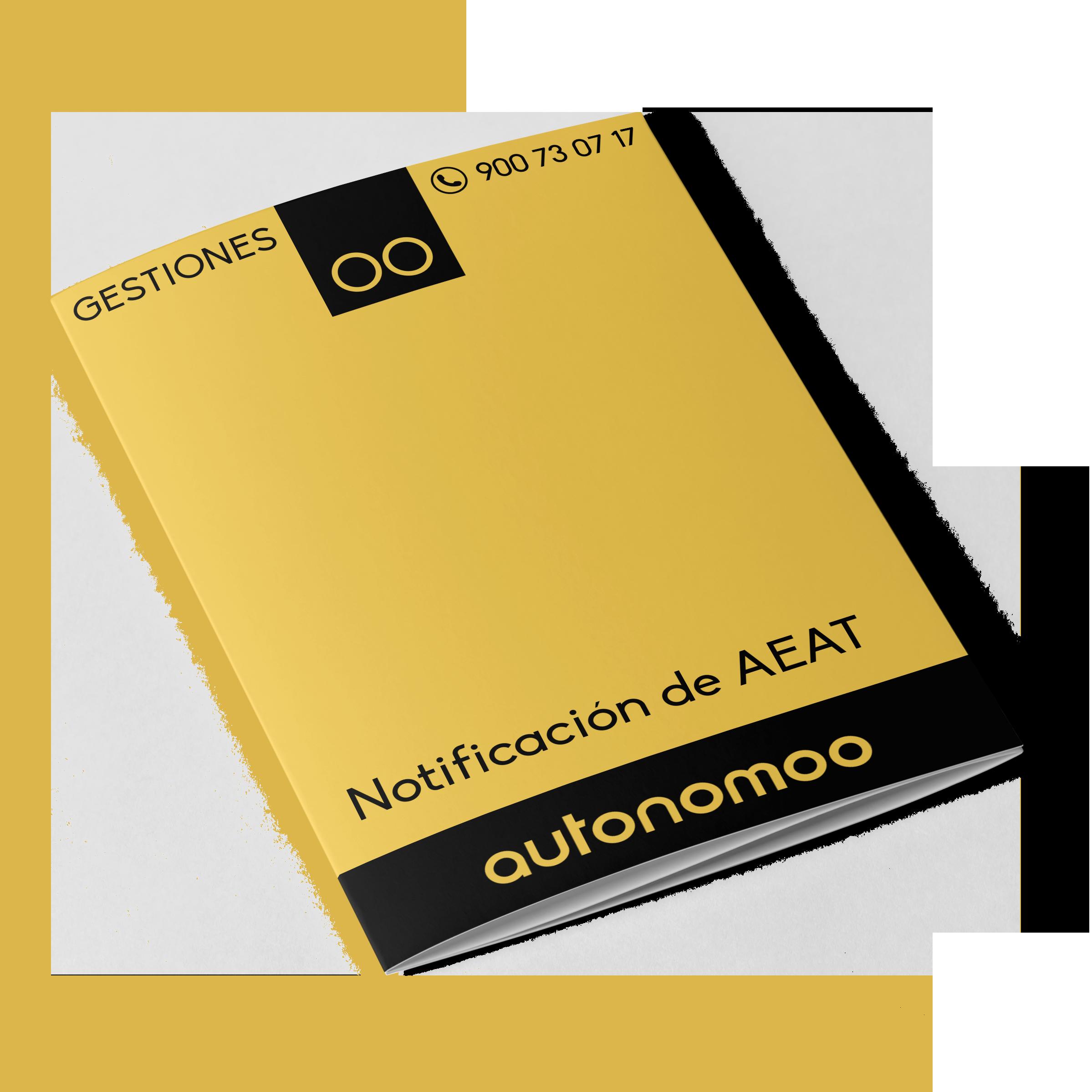 Asesoramiento sobre notificación de AEAT S/PF