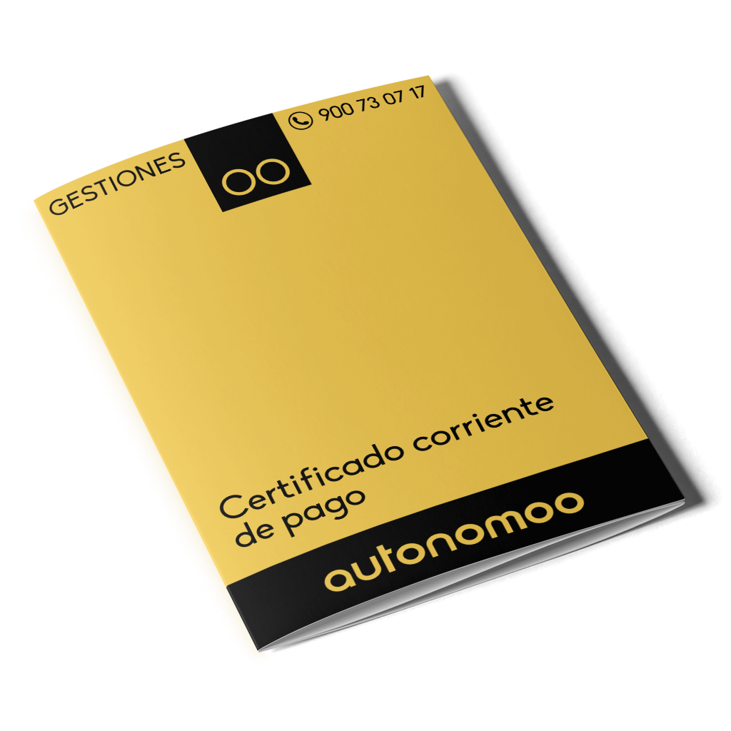 Certificado corriente de pago