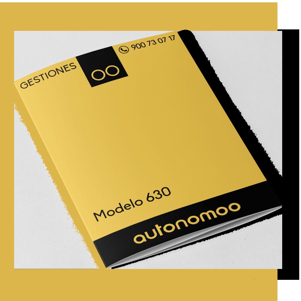 modelo 630 elaboración y/o presentación